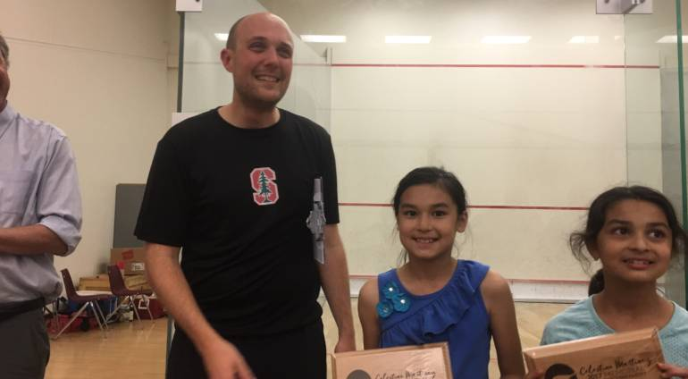 4th Grader Wins Squash Tournament at Stanford